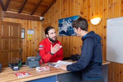 Escuela de esquí de Candanchú